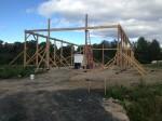 5 Reber Rock Farm barn raising
