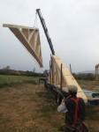 5b - Reber Rock Farm barn building. (with crane)
