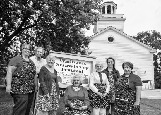 Wadhams United Church of Christ Annual Strawberry Festival, Wadhams, NY