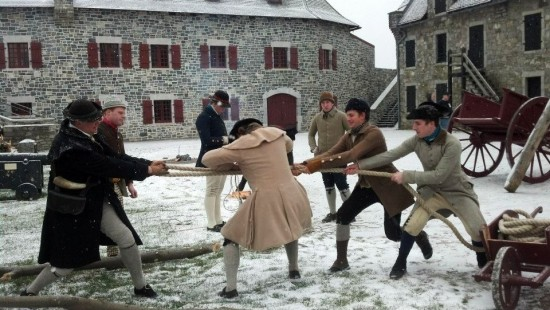 The Noble Train Begins living history event will take place at Fort Ticonderoga on December 7th.