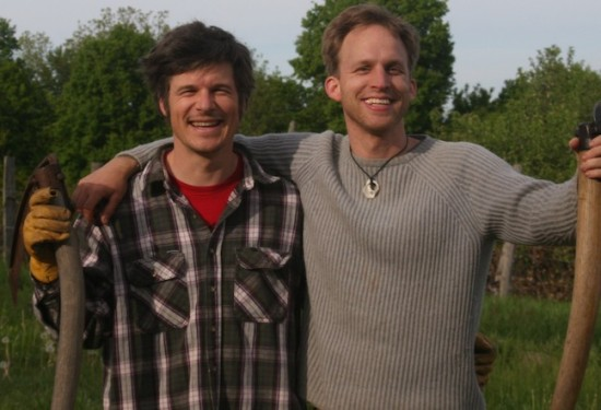 Pedal Power cofounders Andy Wekin and Steve Blood