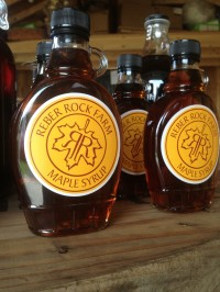 Maple Syrup (Credit: Reber Rock Farm)