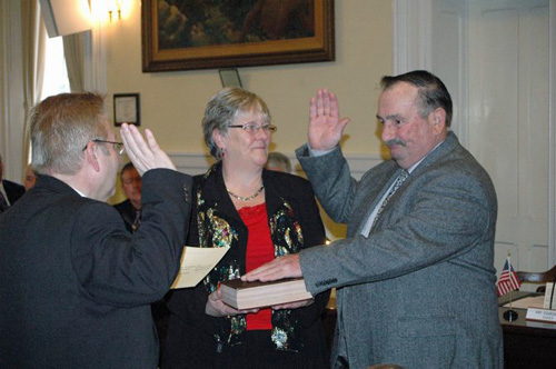 Essex Supervisor Ed Gardner (Photo: Keith Lobdell, Valley News)