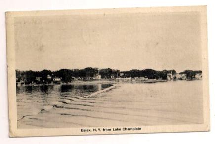 Essex NY from Lake Champlain