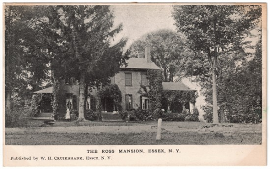 The Ross Mansion (aka Hickory Hill), Essex, NY