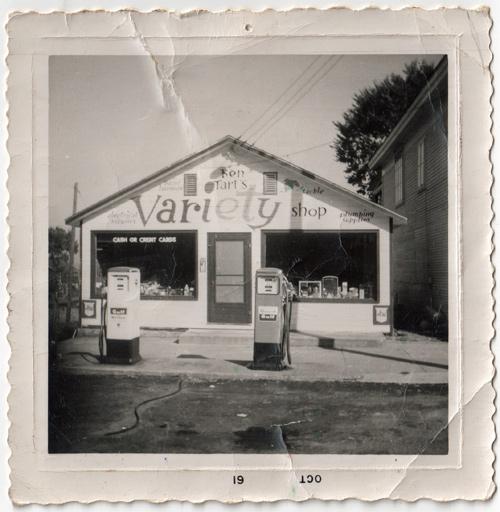 Tart's Variety Shop in Essex, New York, circa 1961 (Courtesy of William Morgan)
