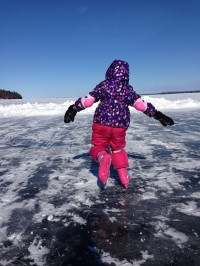 Inaugural Skate on Lake Champlain