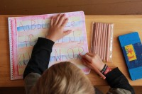 Language Arts lesson (Credit: Jen Zahorchak)