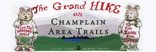 The 2014 Grand Hike on Champlain Area Trails.