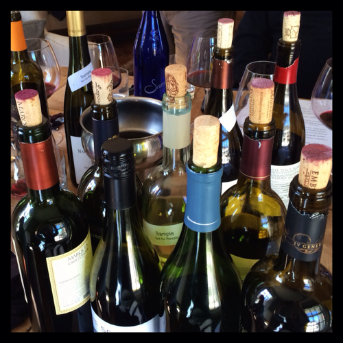Tasting Wine at the Essex Inn
