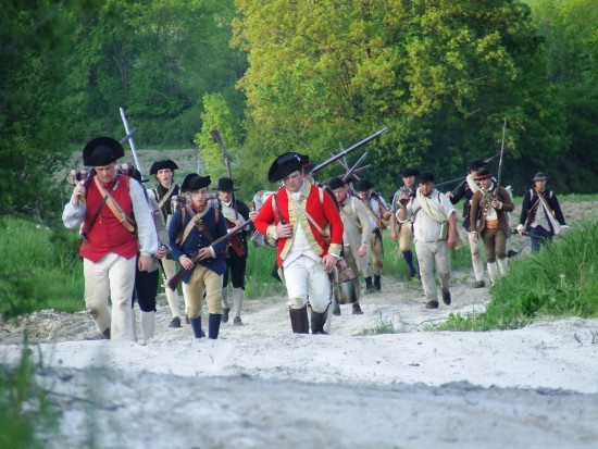 """Experience America's First Victory at Fort Ticonderoga's """"No Quarter"""" Re-enactment May 10-11, 2014! Photo courtesy of Fort Ticonderoga."""