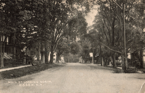 """Main St. Looking North, Essex, NY"""