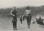 Fishing at Kent Boys Camp (Credit: 1915 Kent Camp Brochure)