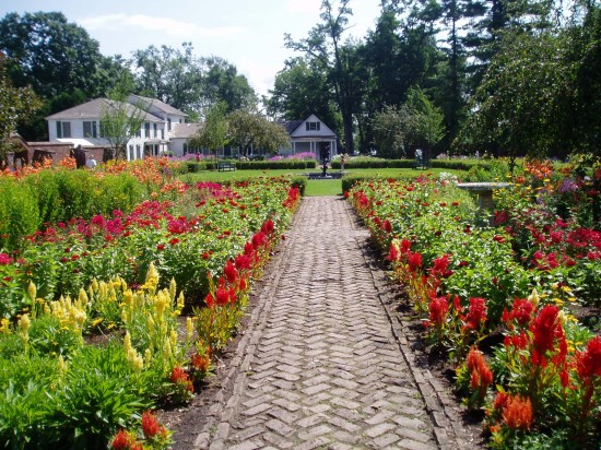 Fort Ticonderoga's King's Garden opens for the 2014 season on May 24th. (Credit: Fort Ticonderoga)