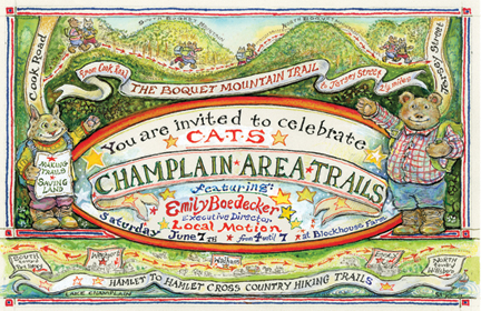 Celebrate Champlain Area Trails on June 7, 2014