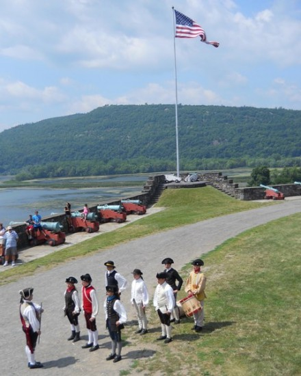Fort Ticonderoga Honors American Armed Forces on Memorial Day, May 26th. (Credit: Fort Ticonderoga)