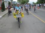 Participants in the 2009 Tour de l'Ile (Photo courtesy of Tom Duca)