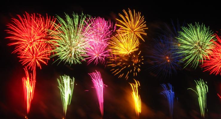 Fireworks. Credit: 久留米市民 (Kurume-Shimin)