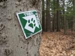 CATS trail marker seen on the Grand Hike (Credit: virtualdavis)