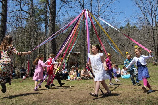 May Day at Lakeside School, Essex, NY (Credit: Lakeside School)
