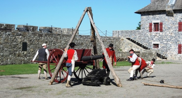 Celebrate Independence at Fort Ticonderoga – America's Fort™! Credit Fort Ticonderoga.