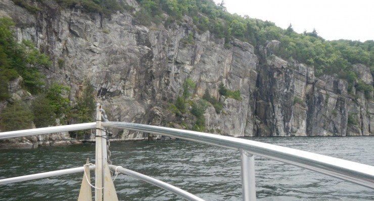 View of the Palisades from the EScape