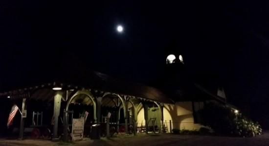 Depot Theatre at night