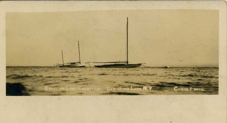 """Essex on Lake Champlain. Gem of the Lake, NY"" [Cowan. Photo]"