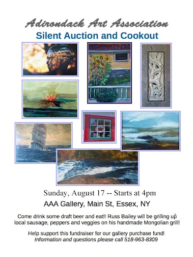 AAA Silent Auction and Cookout