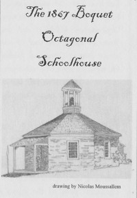 Boquet Schoolhouse drawing by Nicolas Moussallem (Credit: ECHO Pamphlet)