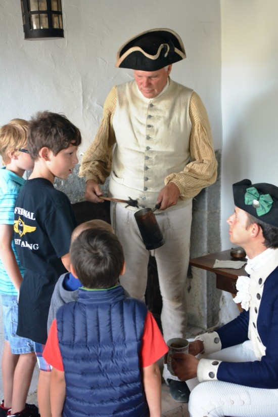 This year's Homeschool Day at Fort Ticonderoga takes place on Friday, September 5th. Pre-registration is required by calling 518-585-2821. (Credit: Fort Ticonderoga)