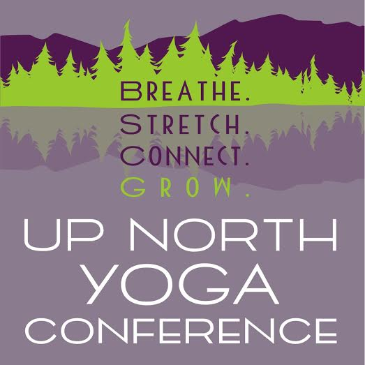 Up North Yoga Conference Logo