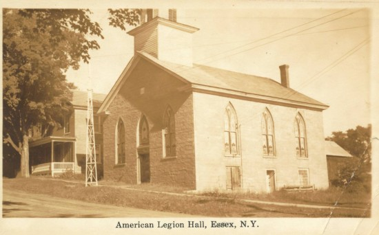 Old Stone Church: American Legion Hall (Courtesy Todd Goff)