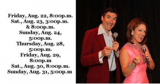 Pete 'N' Keely performance Schedule (Credit: Depot Theatre)