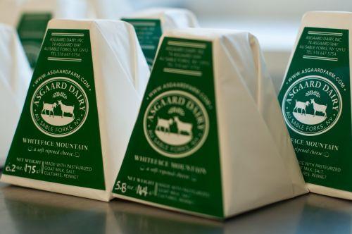 """Asgaard Farm & Dairy """"Whiteface Mountain"""" Cheese"""