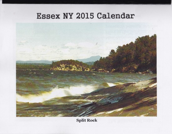 Cover of the Essex Calendar 2015 (Created by Shirley Laforest)
