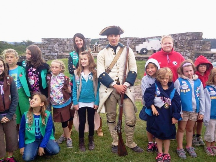 Girl Scout Day at Fort Ticonderoga