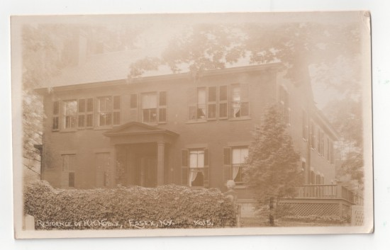 Residence of H.H. Noble, Essex, NY
