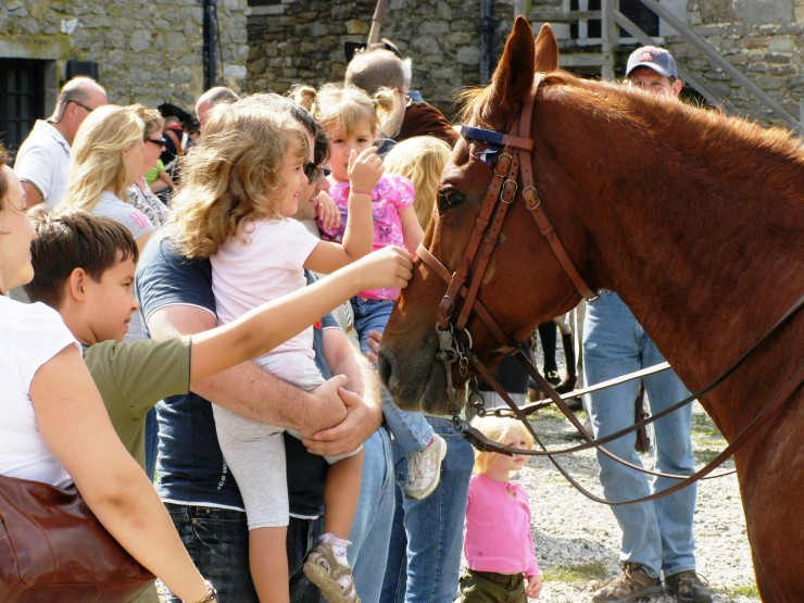 Fort Ticonderoga will present the annual Heritage, Harvest & Horse Festival September 27