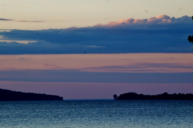 Lake Champlain (Credit: Fred Knickerbocker)