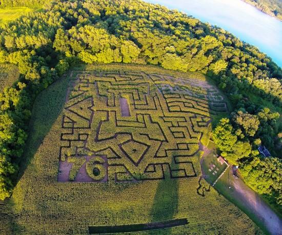 Fort Ticonderoga's Heroic Maze 2014