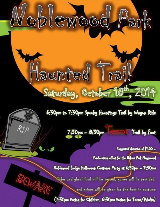 Noblewood Park Haunted Trail