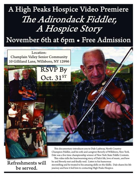 The Adirondack Fiddler, A Hospice Story