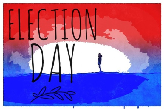 Today is Election Day... Go vote!