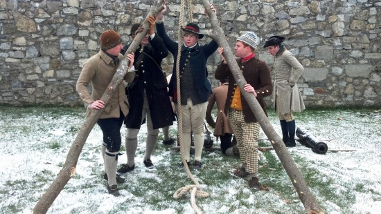 The Noble Train Begins living history event will take place at Fort Ticonderoga on December 6th. (Photo Credit: Fort Ticonderoga)