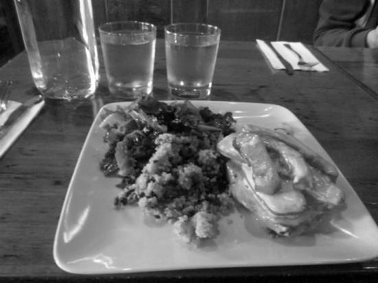 Essex Inn lunch at UNYC (Credit: Katie Shepard)