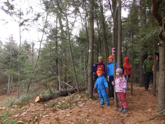First public hike on Wildway Passage Trail (Credit: CATS)