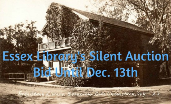 essex library silent auction