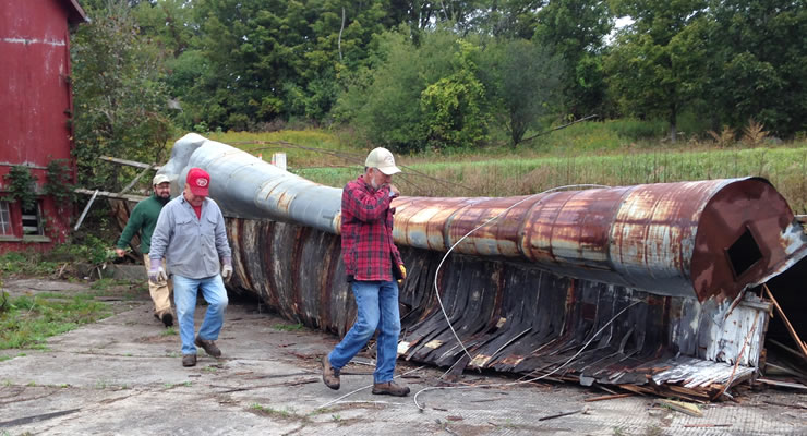 taking-down-an-old-silo-adkfarmerdan