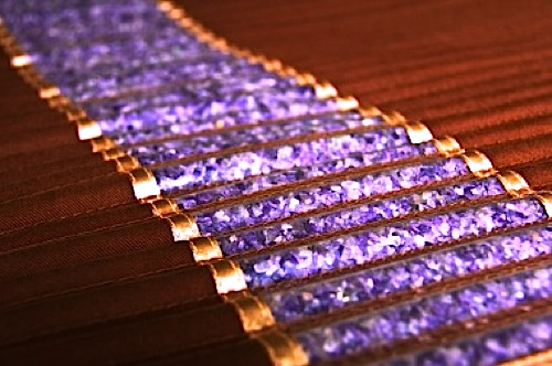 Amethyst BioMat detail (Credit: CentreForVibrantLiving.com)